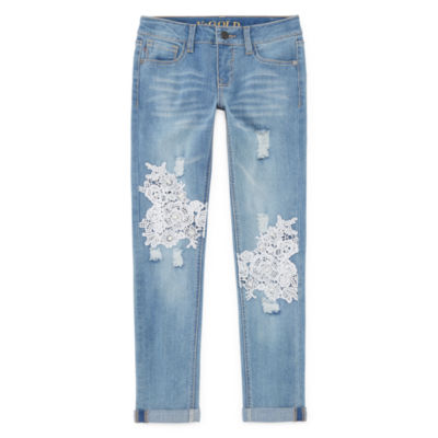 Vgold Skinny Fit Jean Big Kid Girls Plus