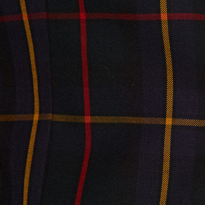 Stafford Tartan Multi Check Classic Fit Sport Coat