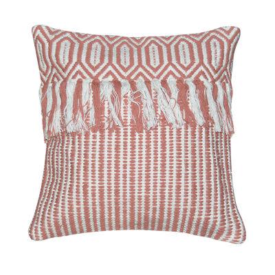 Cirque Square Throw Pillow