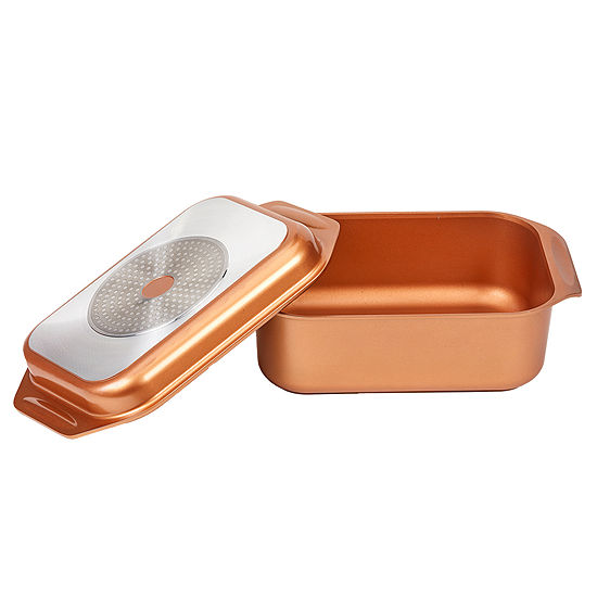 As Seen On TV Copper Chef Wonder Cooker Xl Copper Non-Stick Roasting Pan