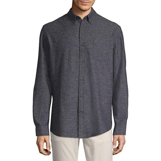 St. John's Bay Mens Long Sleeve Flannel Shirt