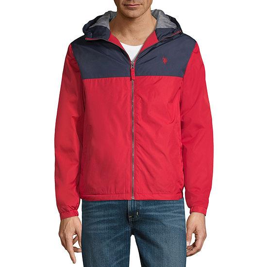 US Polo Assn. Color Block Midweight Windbreaker Jacket