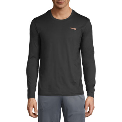 Copper Fit Long Sleeve Crew Neck T-Shirt