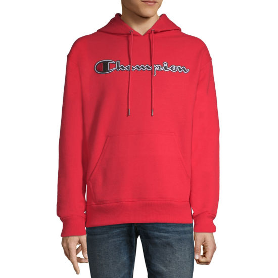 Champion Long Sleeve Fleece Hoodie