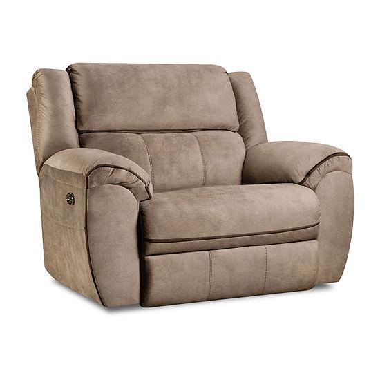 Simmons Upholstery Osborn Power Cuddler Recliner