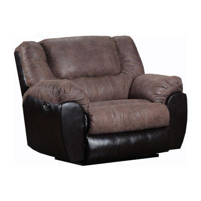 Simmons Upholstery® Mocha Power Cuddler Recliner