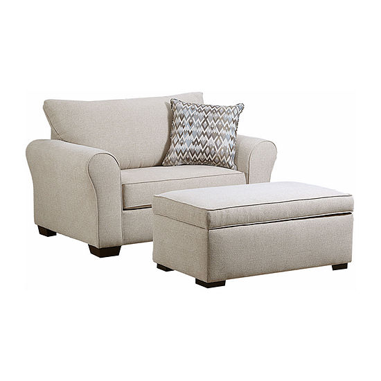 Simmons Upholstery Boston Accent Chair