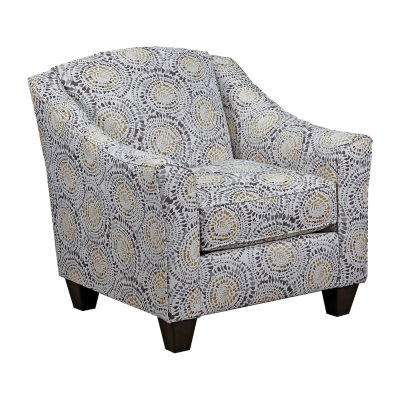 Simmons Upholstery Mosaic Accent Chair