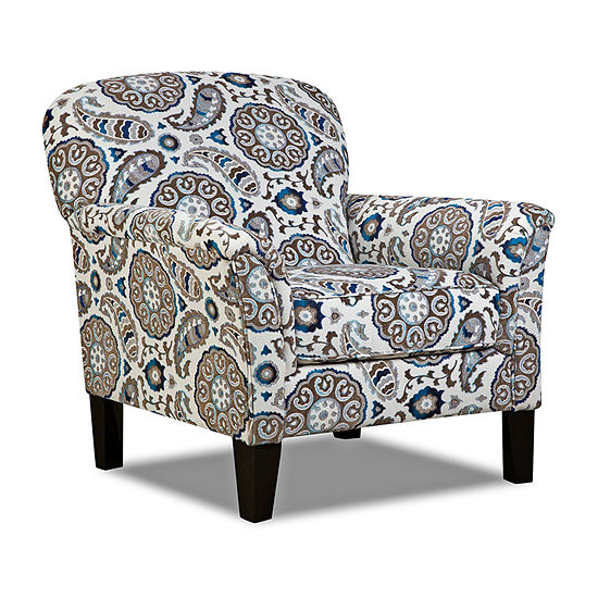 Phenomenal Simmons Upholstery Sancho Accent Chair Gmtry Best Dining Table And Chair Ideas Images Gmtryco