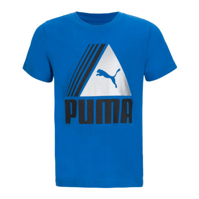 Puma Kids Apparel Graphic T-Shirt-Preschool Boys