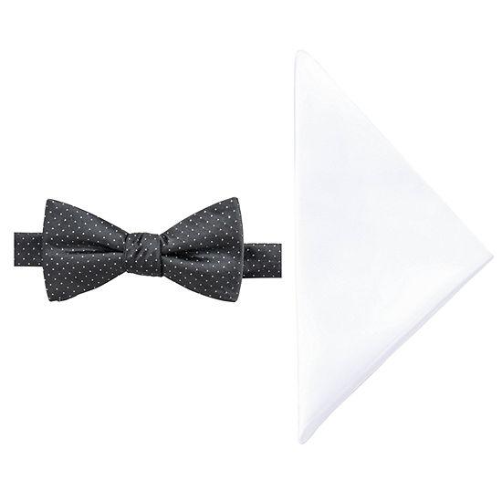 JF J.Ferrar Dots Bow Tie Set