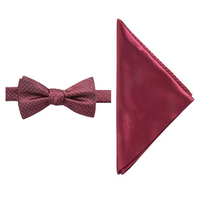 JF J.Ferrar Dots Bow Tie Set