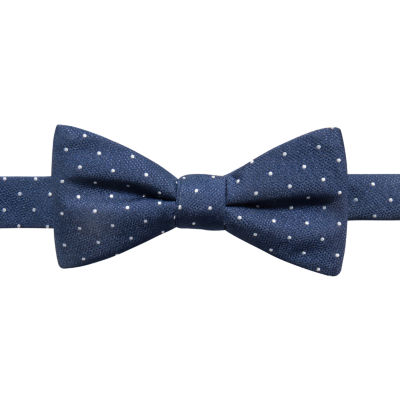 JF J.Ferrar Pin Dot Bow Tie