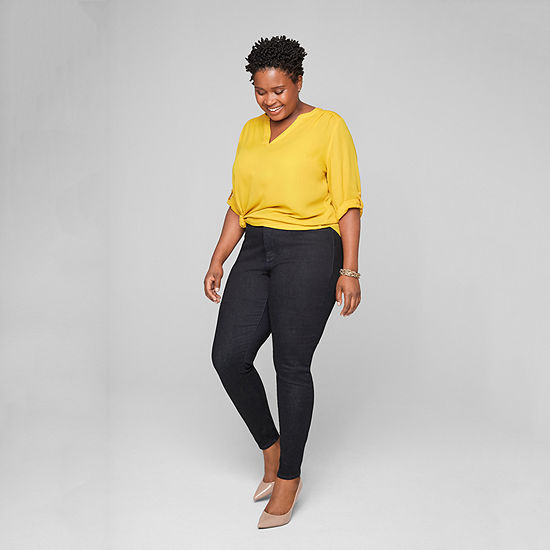Style for Days: The Blouse and The High Rise Jegging