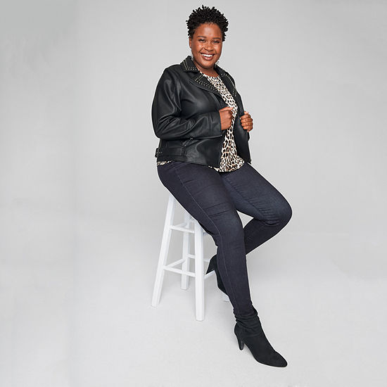 Style for Days: The Blouse, The High Rise Jegging & The Moto Jacket