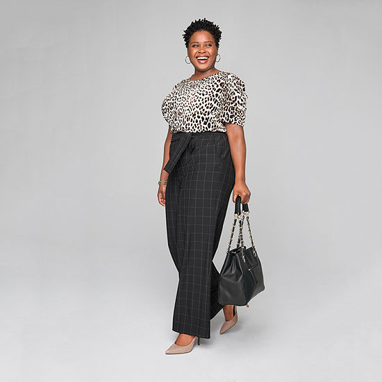 Style for Days: The Blouse and The Wide Leg Trouser