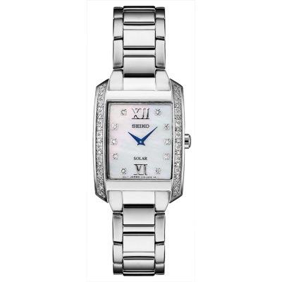 Seiko Womens Silver Tone Bracelet Watch-Sup399