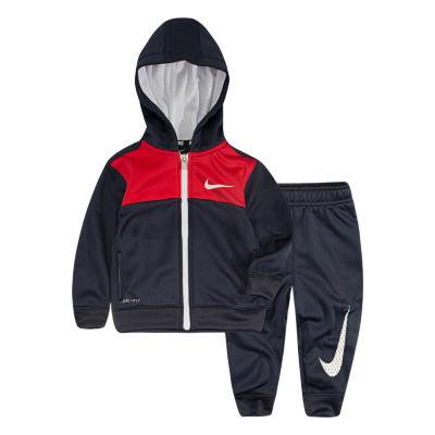 Nike Baby Boy Ecom Sets Fall 2-pc. Logo Pant Set Baby Boys