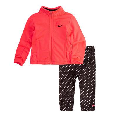 Nike F18 Infant Sets 2-pc. Logo Pant Set Baby Girls
