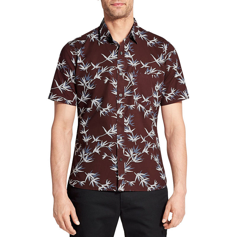 image of Van Heusen Short Sleeve Button-Front Shirt