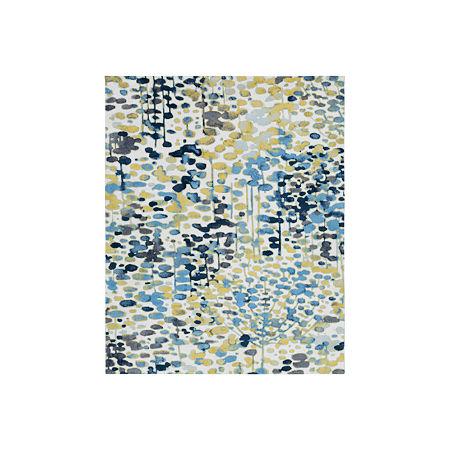 Decor 140 Ponderosa Rectangular Indoor Rugs, One Size , Blue