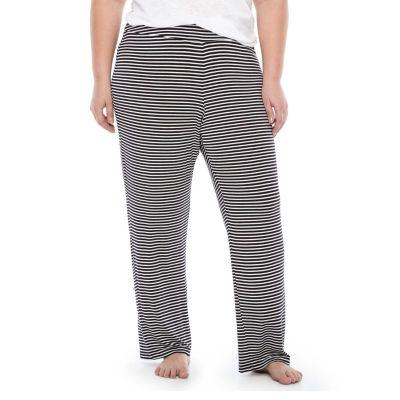 Ambrielle Knit Essential Pajama Pants- Plus