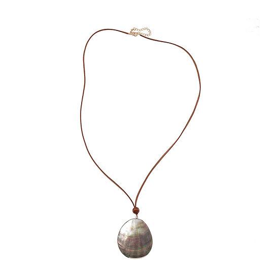Bijoux Bar Womens Beaded Necklace