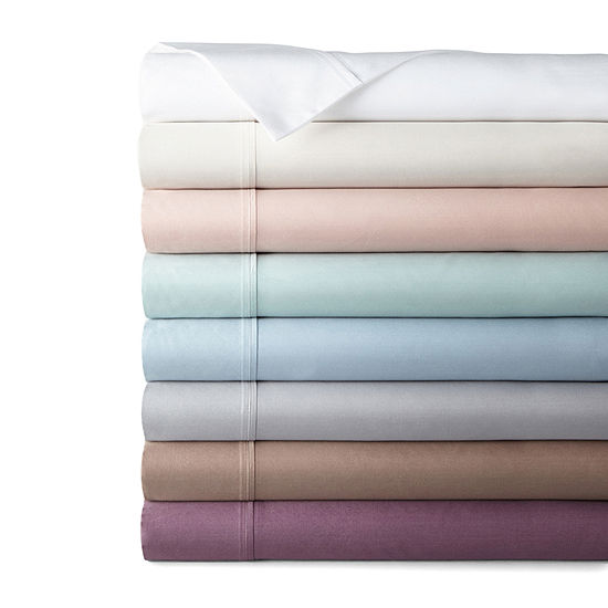400tc Liquid Cotton Sateen Sheet Set - Liz Claiborne
