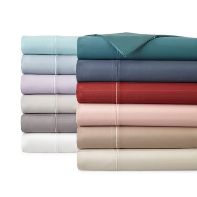 Luxury 600tc Sateen Wrinkle Free Sheet Set - Liz Claiborne