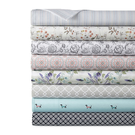 Home Expressions Cotton Designs Printed Sheet Sets