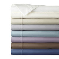 Deals on JCPenney Home Ultra Performance 575 Sateen Deep Pocket Sheet Set