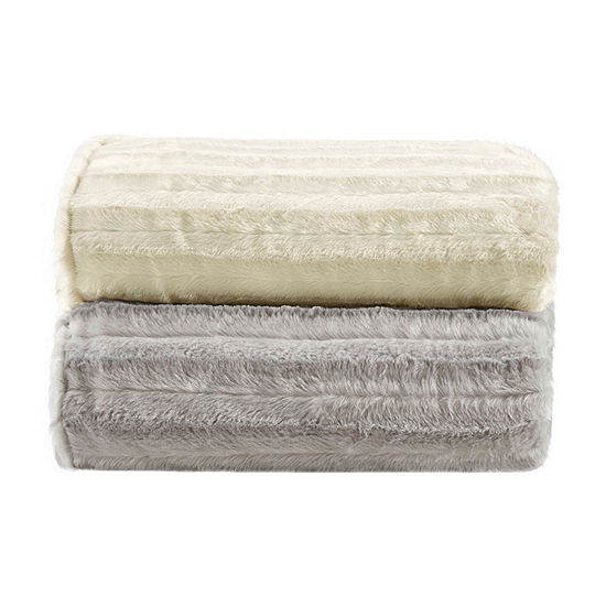 Beautyrest Duke Faux Fur Weighted Blanket