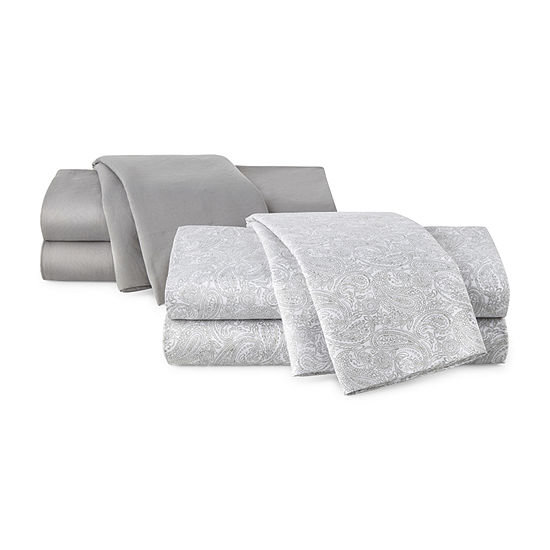 Home Expressions 2pk Microfiber Easy Care Wrinkle Resistant Sheet Set