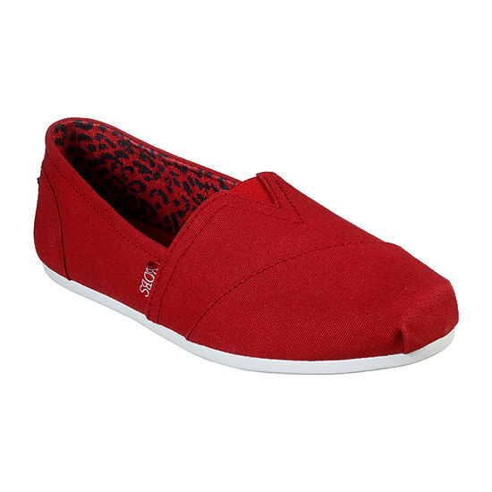 Skechers Bobs Womens Plush-Peace And Love Slip-On Shoe