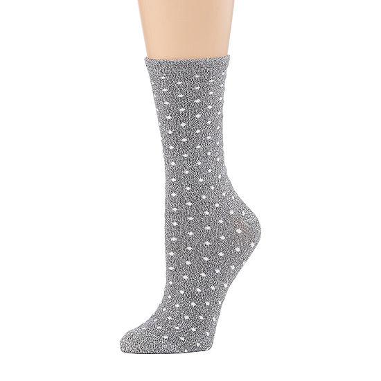Cuddl Duds 1 Pair Crew Socks Womens