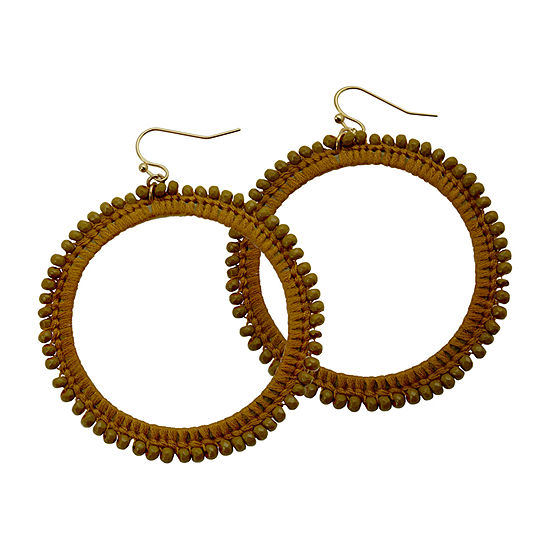 Bijoux Bar Mustard Drop Earrings