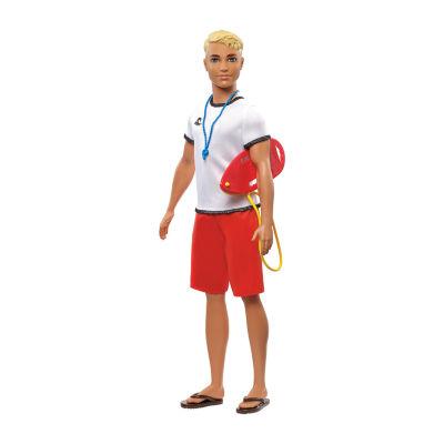 Barbie Ken Career Lifeguard Doll