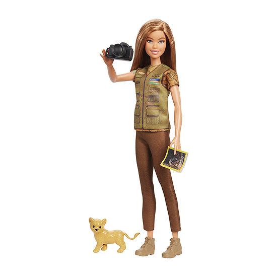 Barbie Photojournalist Doll