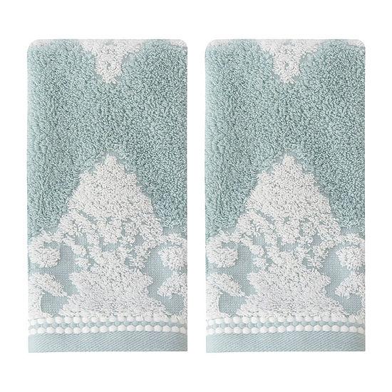 Croscill Classics Juno 2-pc. Damask + Scroll Bath Towel Set