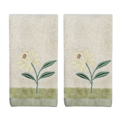 Croscill Classics Penelope 2-pc. Floral Fingertip Towel Set