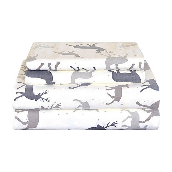 Pointehaven Heavy Weight Flannel Sheet Set