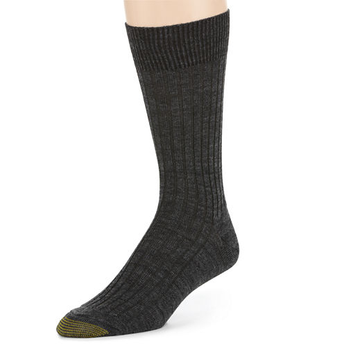 Gold Toe® 3-pk. Windsor Wool-Rich Crew Socks