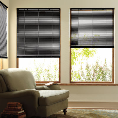 Home Custom 1 Aluminum One Touch Horizontal Blinds