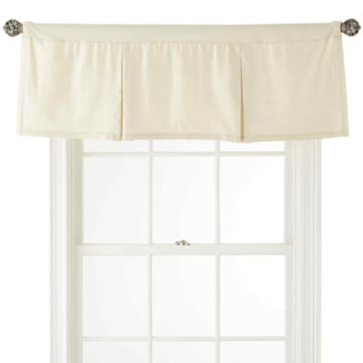 Royal Velvet Supreme Rod-Pocket Box Pleat Valance