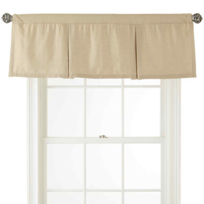 Supreme Rod-Pocket Lined Box Pleat Valance