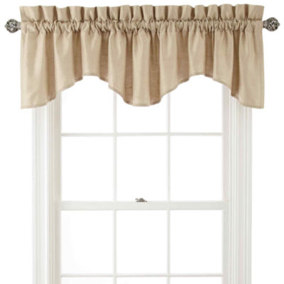 Supreme Rod-Pocket Lined Scalloped Valance