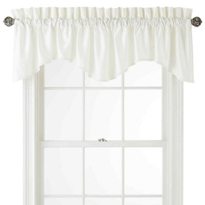 Royal Velvet Supreme Rod-Pocket Scallop Valance