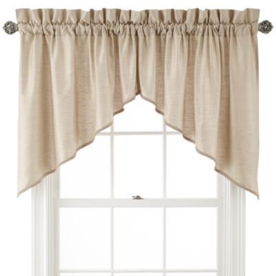 Supreme Rod-Pocket Shaped Valance Pair