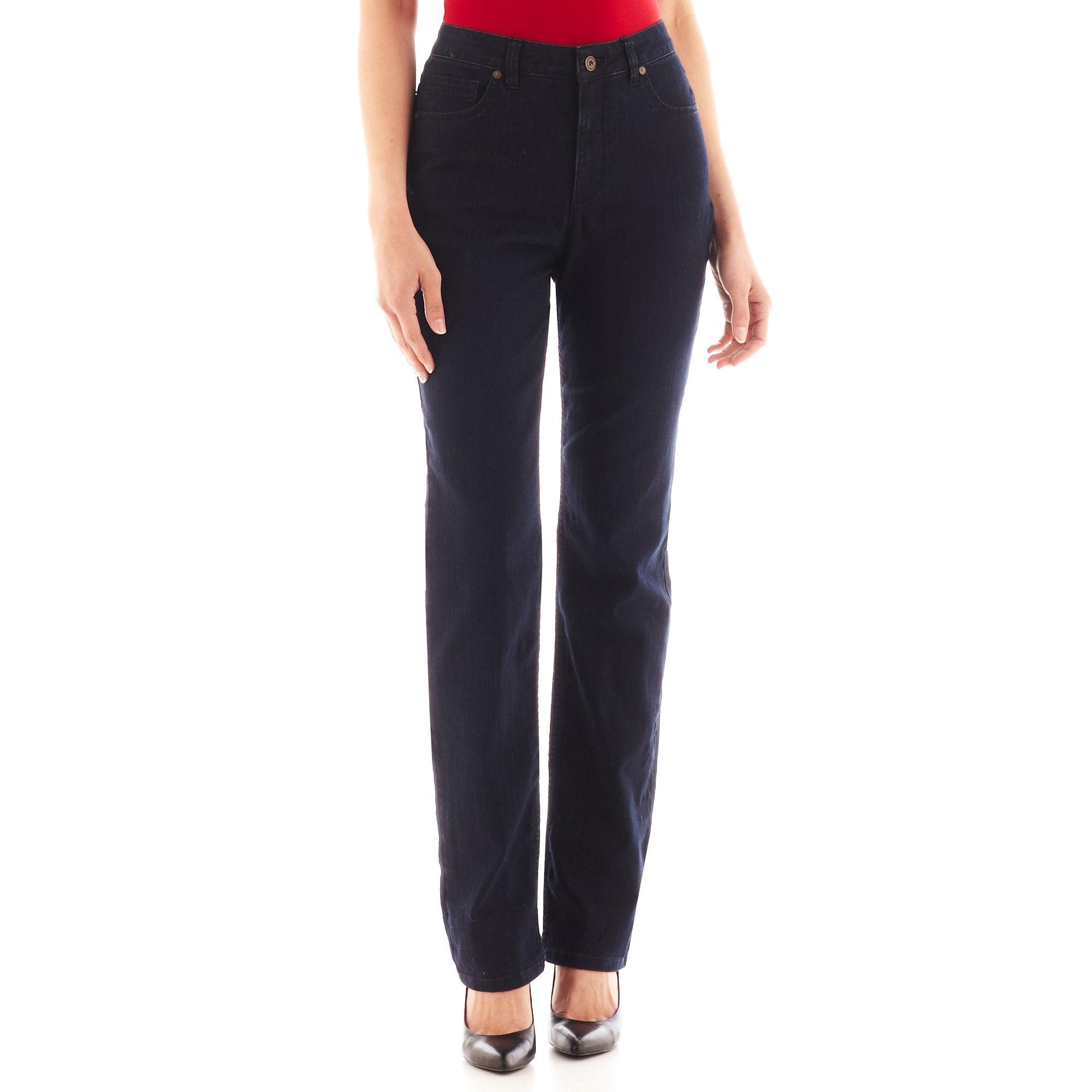 Liz Claiborne Essential Original-Fit Straight-Leg Jeans
