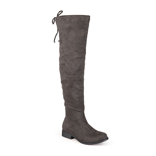Journee Collection Womens Mount Wide Calf Over-the-Knee Boots